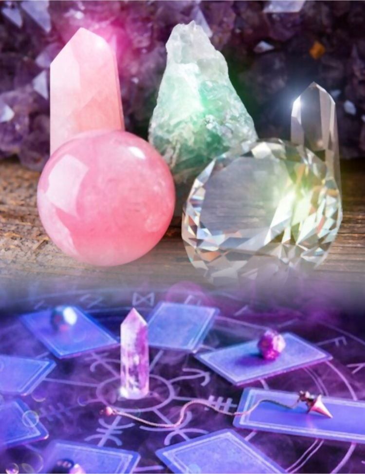 Crystals And Gemstones by solemn side
