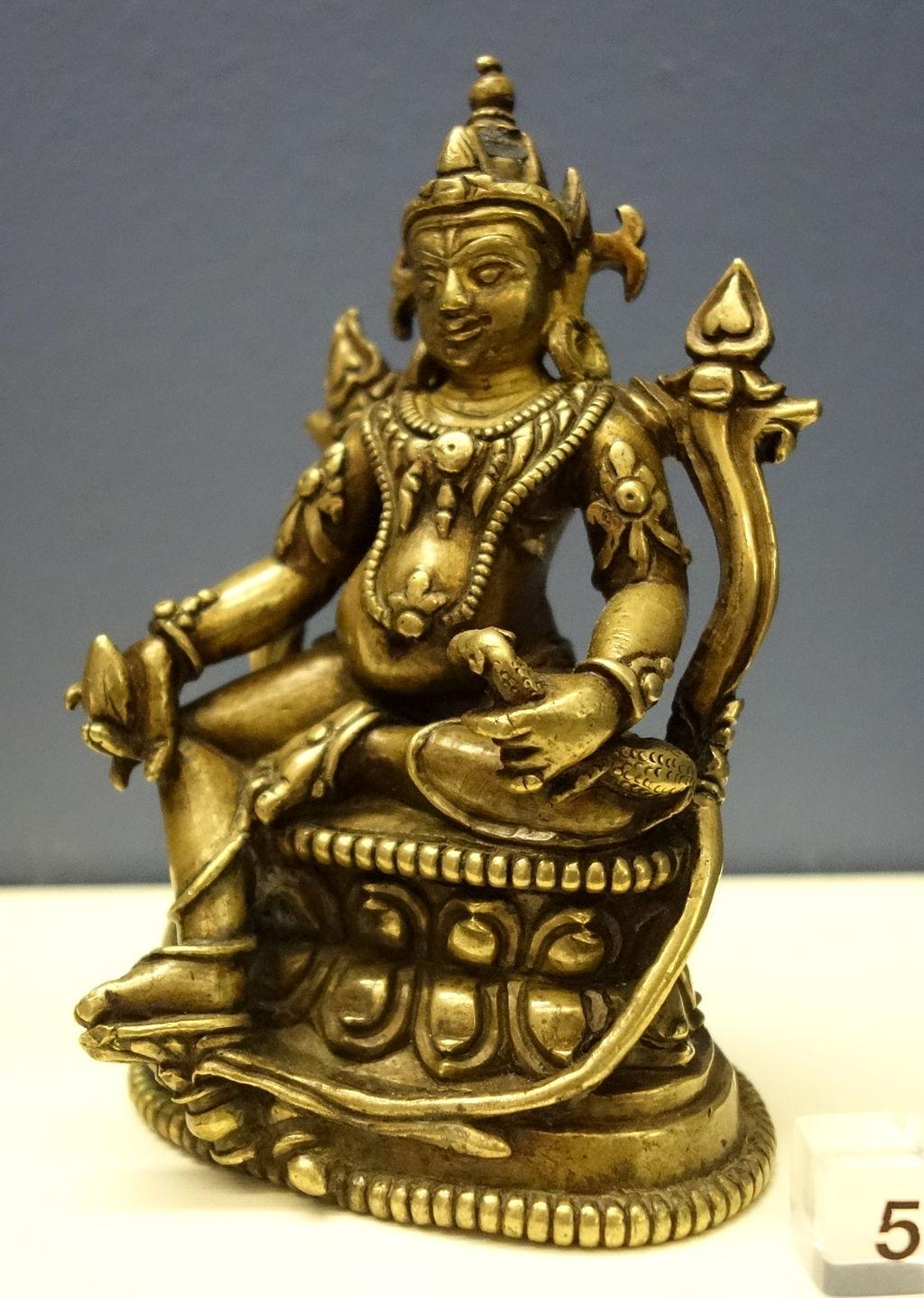Lord Kubera (Tibet - 12th Century AD)